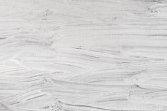 Struttura bianca di calce con l'aiuto della verniciatura a mano Fotografia Stock Libera da Diritti