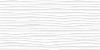 struttura bianca modello astratto grigio senza cuciture natura ondulata dell'onda Fotografia Stock
