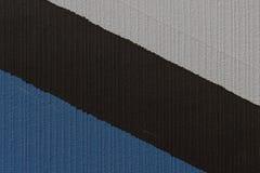 Struttura bianca, nera e blu fotografia stock libera da diritti