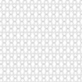 struttura bianca Reticolo astratto senza giunte punto del cerchio geometrico Immagini Stock