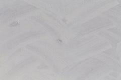 Struttura bianca spazzolata - fondo sporco Fotografia Stock