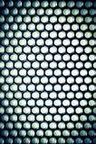 Struttura in bianco e nero del carbonio Fotografie Stock