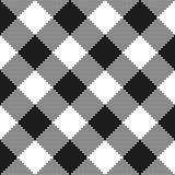 Struttura in bianco e nero del tessuto Illustrazione di vettore Fotografia Stock Libera da Diritti