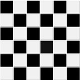 Struttura in bianco e nero senza giunte delle mattonelle illustrazione vettoriale