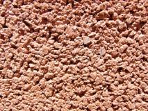 Struttura - blocchi in calcestruzzo - colore rosso arancione Fotografie Stock Libere da Diritti