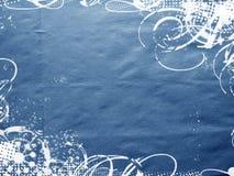 Struttura blu Fotografie Stock