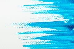 Struttura blu astratta dell'acquerello per fondo illustrazione vettoriale