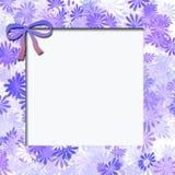 Struttura blu del fiore illustrazione vettoriale