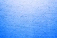 Struttura blu del fondo con luce Fotografie Stock