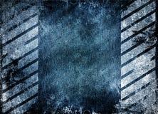 Struttura blu del fondo di lerciume Immagini Stock