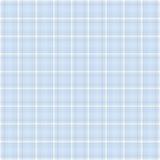 Struttura blu del plaid per un album del neonato Immagini Stock