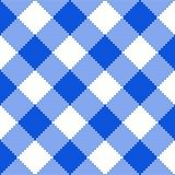 Struttura blu del tessuto Illustrazione di vettore Immagine Stock