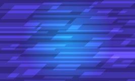 Struttura blu dell'estratto di tecnologia Illustrazione di Stock