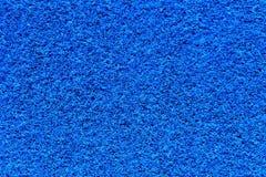 Struttura blu della moquette Fotografia Stock