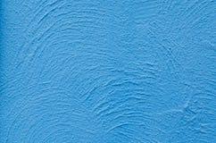 Struttura blu della parete Fotografia Stock Libera da Diritti
