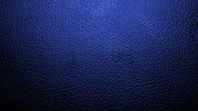 Struttura blu della pelle Fotografia Stock