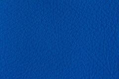 Struttura blu della pelle Fotografie Stock