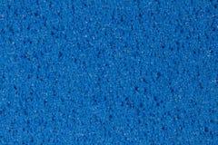 Struttura blu della schiuma dell'acetato di vinile dell'etilene con porosità immagine stock