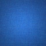 Struttura blu della tela Fotografie Stock