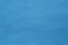 Struttura blu di lerciume, fondo blu scuro della parete Fotografia Stock Libera da Diritti