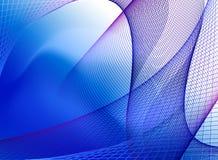 Struttura blu di spettro Immagini Stock