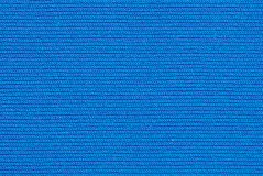 Struttura blu di tessuto Fotografia Stock