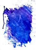 Struttura blu dipinta Immagine Stock