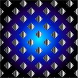 Struttura blu elettrica di griglia Fotografie Stock Libere da Diritti