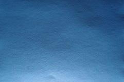 Struttura blu luminosa reale della carta di colore Fotografia Stock