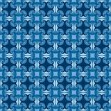 Struttura blu moderna senza cuciture dell'estratto illustrazione vettoriale