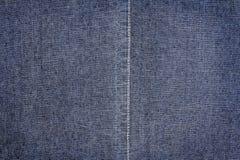Struttura blu scuro dei jeans Immagine Stock Libera da Diritti