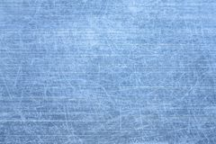 Struttura blu spazzolata del metallo Fotografie Stock