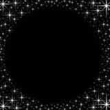 Struttura brillante del confine della stella illustrazione vettoriale