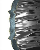 Struttura brillante del metallo Elemento per progettazione Mascherina per il disegno copi lo spazio per l'opuscolo dell'annuncio  Immagine Stock Libera da Diritti