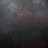 Struttura bronzea del metallo di buio Fotografia Stock