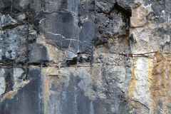 Struttura 1664 - calcestruzzo nocivo Fotografia Stock