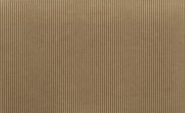 Struttura - cartone ondulato marrone chiaro Fotografie Stock Libere da Diritti