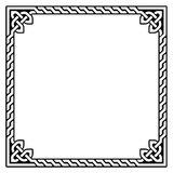 Struttura celtica, modello del confine - Fotografia Stock
