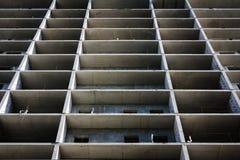 Struttura in cemento armato moderna, costruente sotto Immagine Stock