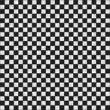 Struttura checkered in bianco e nero senza giunte immagini stock