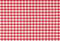 Struttura checkered classica della tovaglia Immagine Stock Libera da Diritti