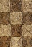 Struttura Checkered della stuoia Immagini Stock