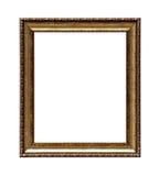 Struttura classica dorata della tela di pittura Fotografie Stock Libere da Diritti