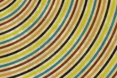 struttura colorata anni sessanta Fotografia Stock