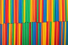 Struttura colorata del fondo dei bastoni Fotografia Stock