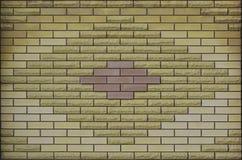 Struttura colorata stagionata moderna del muro di mattoni dell'ardesia Fotografie Stock Libere da Diritti