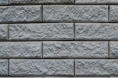 Struttura colorata stagionata moderna del muro di mattoni dell'ardesia Immagini Stock