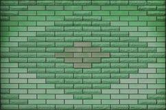 Struttura colorata stagionata moderna del muro di mattoni dell'ardesia Fotografie Stock
