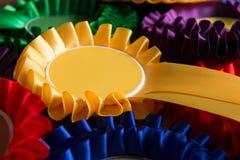 Struttura completa sparata delle rosette politiche Colourful Fotografie Stock