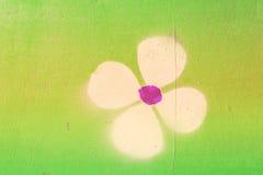 Struttura con dei fiori Immagini Stock Libere da Diritti